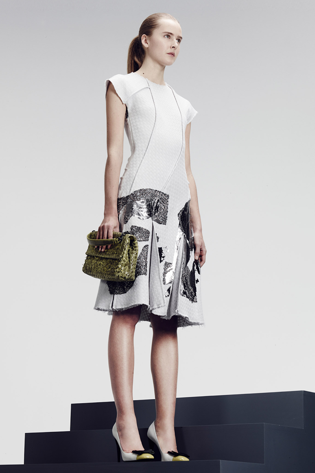 COLLECTION- Julia, Ileva, Tilda, Elisabeth, Josephine, Cindy, Marine, Idris, Magdalena & Lisanne for Bottega Veneta Pre-Fall 2014. www.imageamplified.com, Image Amplified (9)