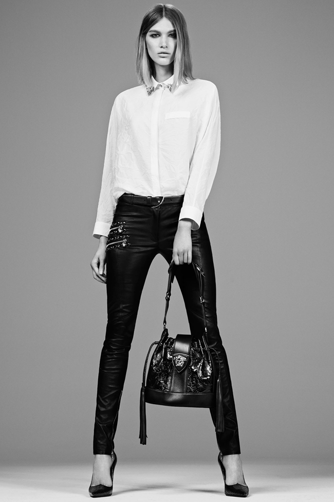 COLLECTION- Irina Nikolaeva for Versace Pre-Fall 2014. www.imageamplified.com, Image Amplified (1)