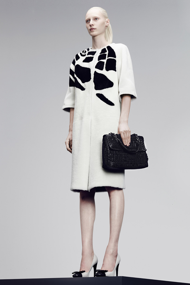 COLLECTION- Julia, Ileva, Tilda, Elisabeth, Josephine, Cindy, Marine, Idris, Magdalena & Lisanne for Bottega Veneta Pre-Fall 2014. www.imageamplified.com, Image Amplified