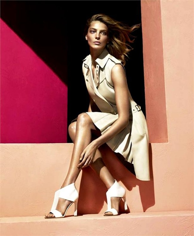 CAMPAIGN- Daria Werbowy for Salvatore Ferragamo Spring 2014 by Mert & Marcus. www.imageamplified.com, Image amplified (3)