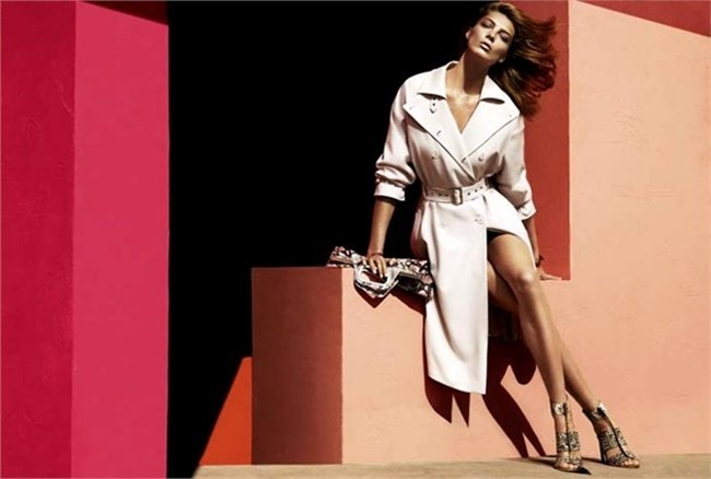 CAMPAIGN- Daria Werbowy for Salvatore Ferragamo Spring 2014 by Mert & Marcus. www.imageamplified.com, Image amplified (5)