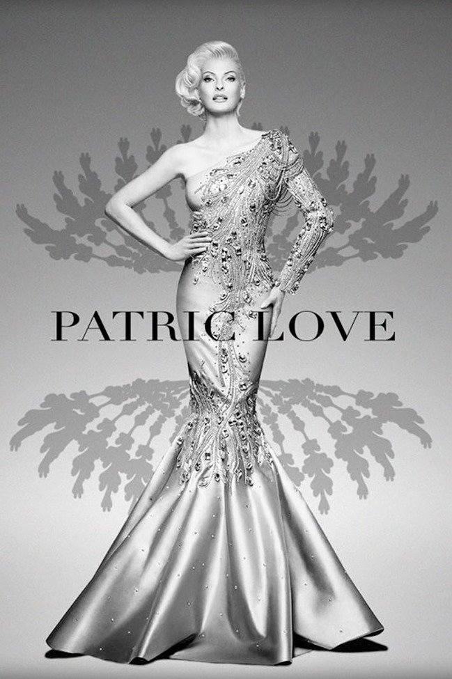 CAMPAIGN- LInda Evangelista for Patric Love Spring 2014 by Prince Julio Cesar. www.imageamplified.com, Image amplified