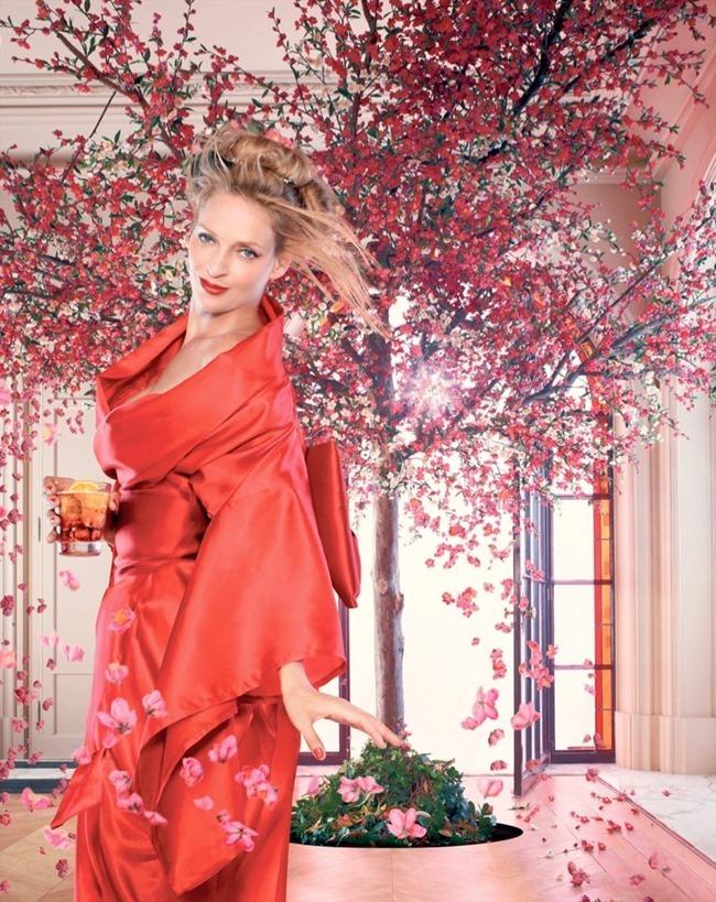 FASHION PHOTOGRAPHY- Uma Thurman for Campari's 2014 Calendar. www.imageamplified.com, Image Amplified (4)