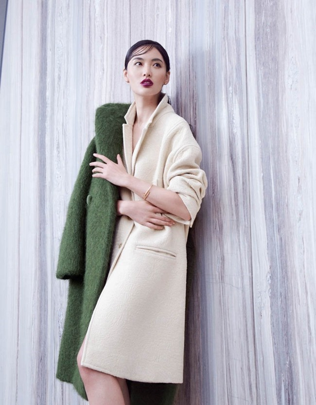 GRAZIA CHINA- Bonnie Chen in Coast on Coat by Stockton Johnson. Yi Guo, Fall 2013, www.imageamplified.com, Image amplified (3)