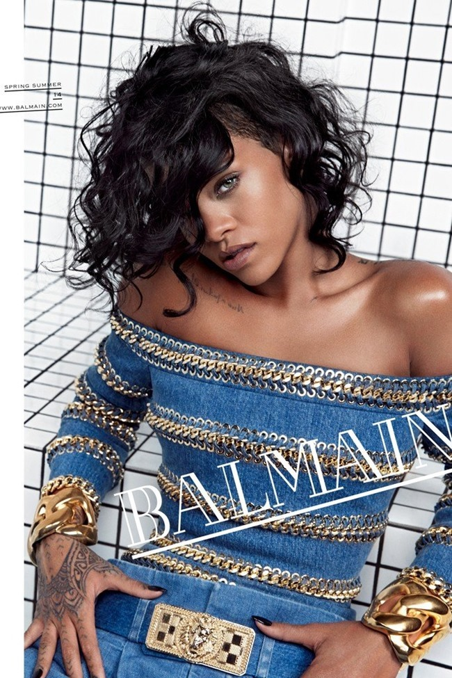 PREVIEW- Rihanna for Balmain Spring 2014 by Inez & Vinoodh. www.imageamplified.com, Image Amplified (3)