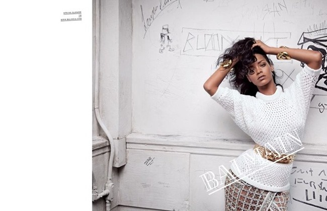 PREVIEW- Rihanna for Balmain Spring 2014 by Inez & Vinoodh. www.imageamplified.com, Image Amplified