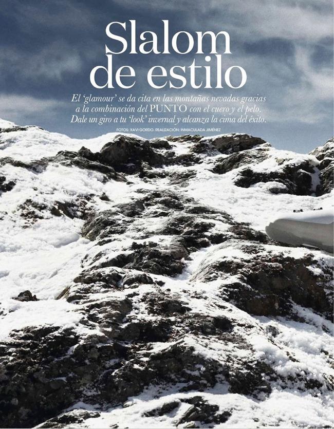 ELLE SPAIN Nadejda Savcova in Slalom De Estilo by Xavi Gordo. Inmaculada Jimenez, January 2014, www.imageamplified.com, Image Amplified (1)