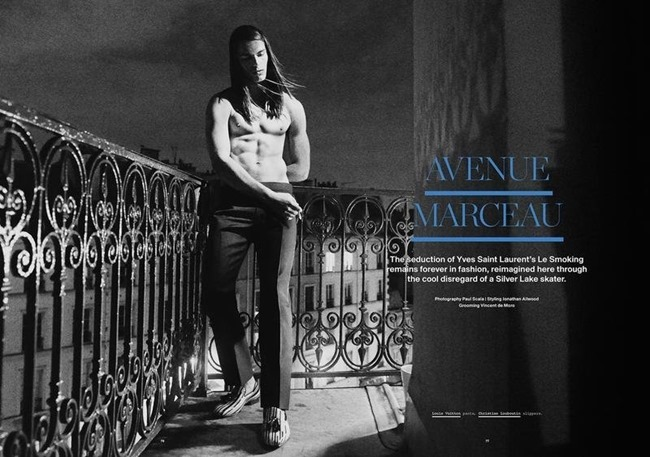 MANUSCRIPT MAGAZINE Travis Smith in Avenue Marceau by Paul Scala. Jonathan Ailwood, Fall 2013, www.imageamplified.com, Image Amplified (6)