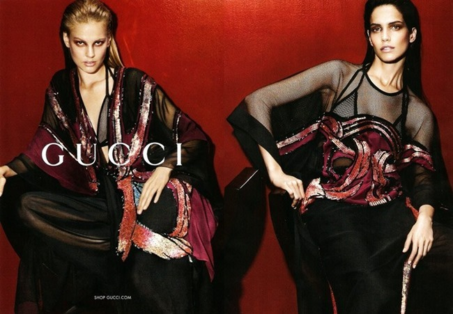 PREVIEW Amanda Wellsh & Elisabeth Erm for Gucci Spring 2014. www.imageamplified.com, Image amplified (1)