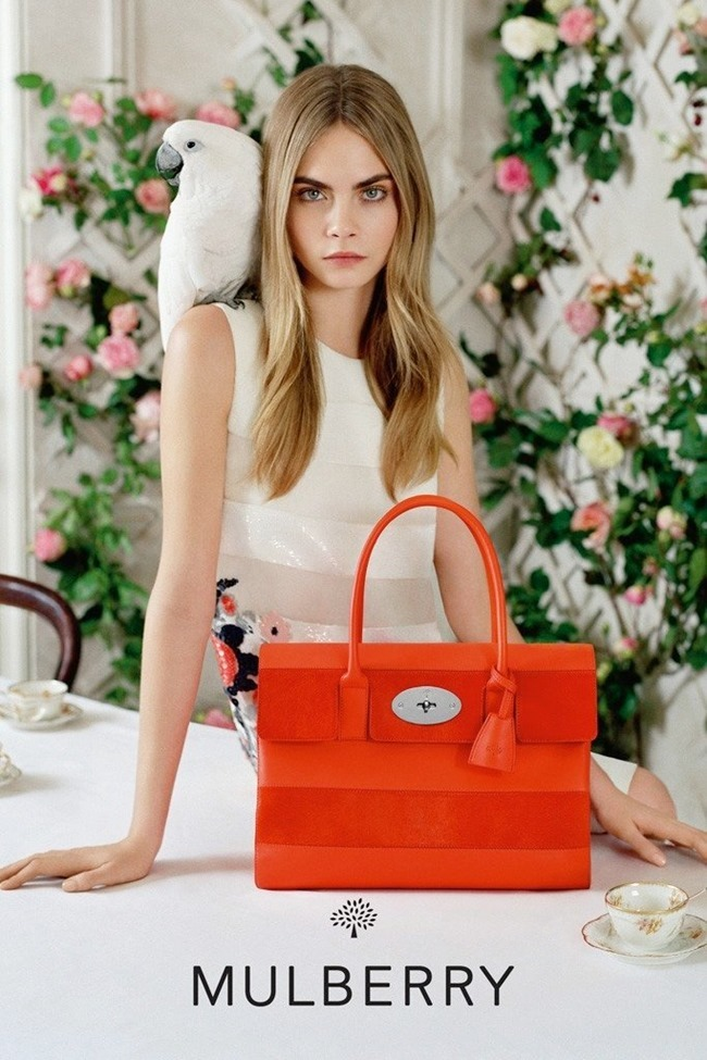 CAMPAIGN Cara Delevigne for Mulberry Spring 2014 by Tim Walker. Edward Enninful, www.imageamplified.com, Image Amplified (2)