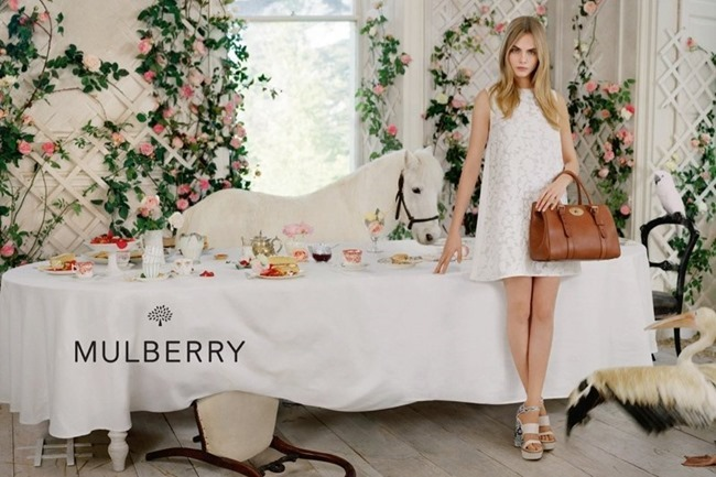 CAMPAIGN Cara Delevigne for Mulberry Spring 2014 by Tim Walker. Edward Enninful, www.imageamplified.com, Image Amplified (3)