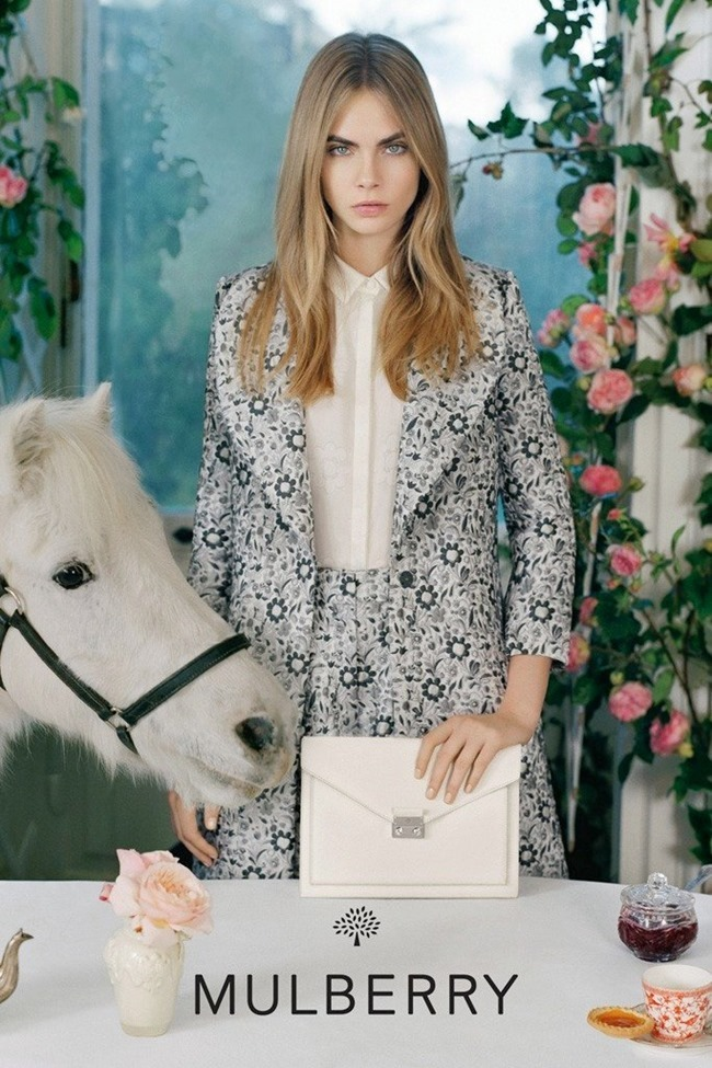 CAMPAIGN Cara Delevigne for Mulberry Spring 2014 by Tim Walker. Edward Enninful, www.imageamplified.com, Image Amplified (4)