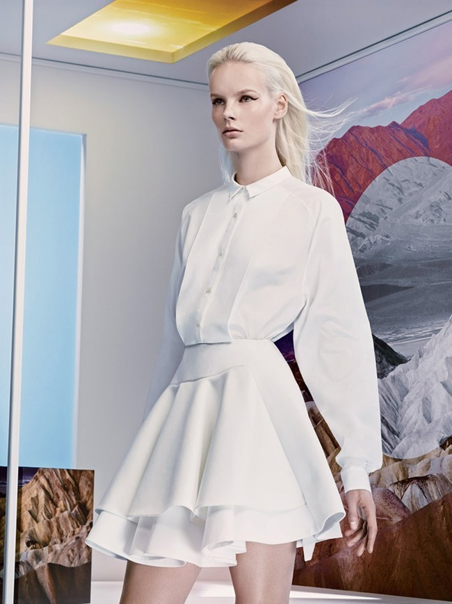PREVIEW Irene Hiemstra for Ports 1961 Spring 2014 by Craic McDean. www.imageamplified.com, Image amplified