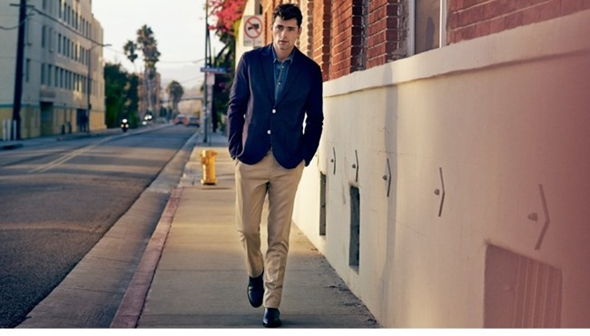 CAMPAIGN Sean O'Pry in Casual Sunday for H&M Spring 2014. www.imageamplified.com, Image Amplified (8)