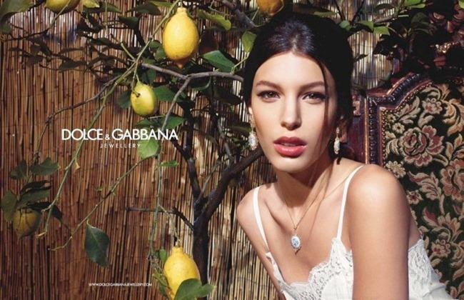 CAMPAIGN Kate King for Dolce & Gabbana Jewelry 2014. www.imageamplified.com, Image amplified (6)
