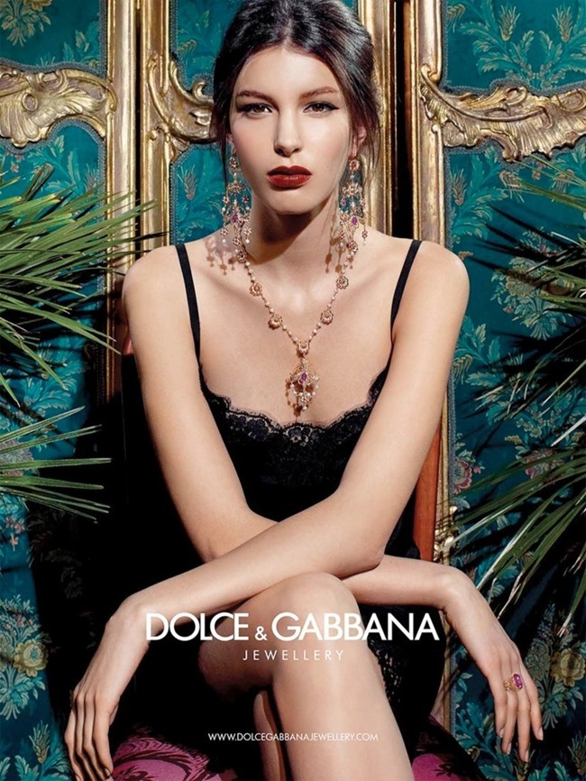 CAMPAIGN Kate King for Dolce & Gabbana Jewelry 2014. www.imageamplified.com, Image amplified (9)