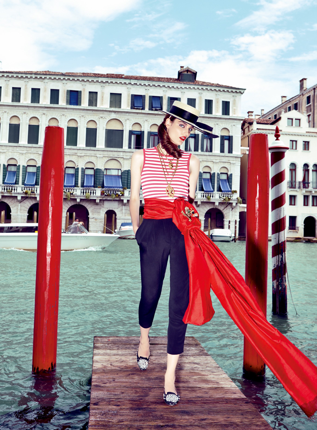 VOGUE JAPAN Zuzanna Bijoch in My Fascination With Venice by Pierpaolo Ferrari. Giovanna Battaglia, February 2014, www.imageamplified.com, Image Amplified (6)