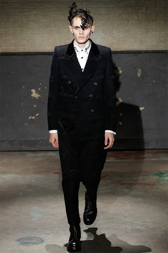 LONDON COLLECTIONS MEN- Alexander McQueen Fall 2014. www.imageamplified.com, Image Amplified (15)