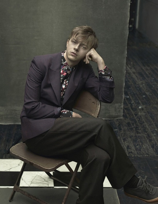 CAMPAIGN Dane DeHaan for Prada Menswear Spring 2014 by Annie Leibovitz. Olivier Rizzo, www.imageamplified.com, Image Amplified (2)