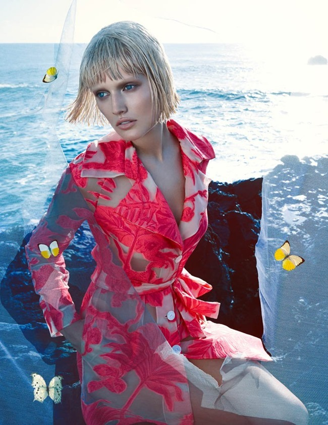 CAMPAIGN Toni Garrn for Blumarine Spring 2014 by Camilla Akrans. www.imageamplified.com, Image amplified (7)