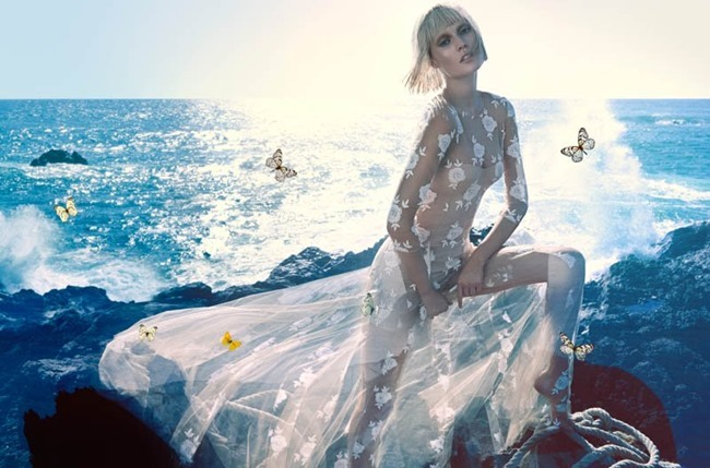 CAMPAIGN Toni Garrn for Blumarine Spring 2014 by Camilla Akrans. www.imageamplified.com, Image amplified (11)