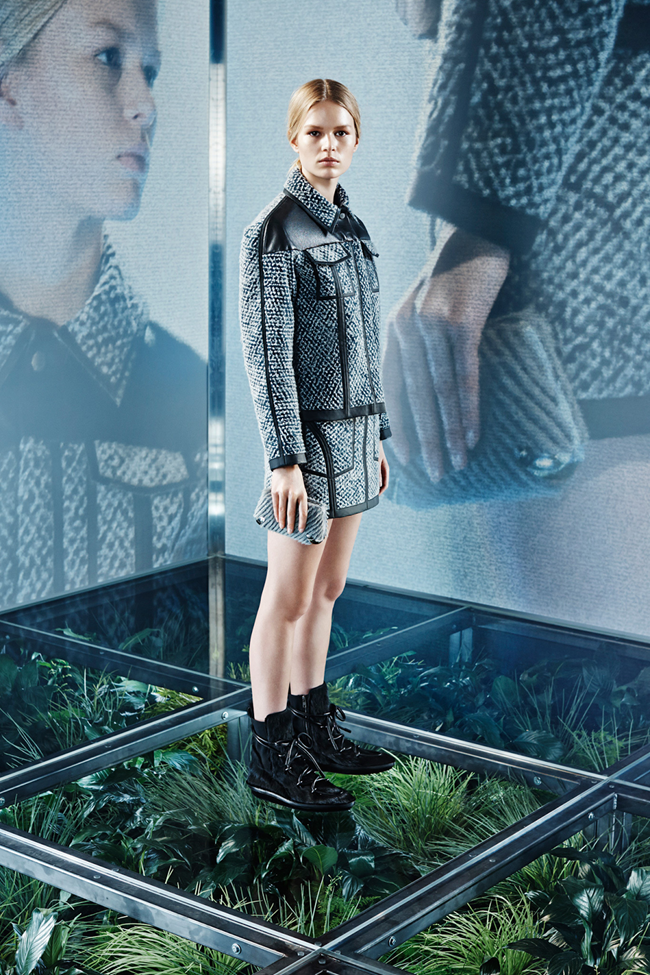 COLLECTION Lexi Boling, Kasia Jujeczka, Zuzu & Anna Ewers for Balenciaga Pre-Fall 2014. www.imageamplified.com, Image amplified (3)