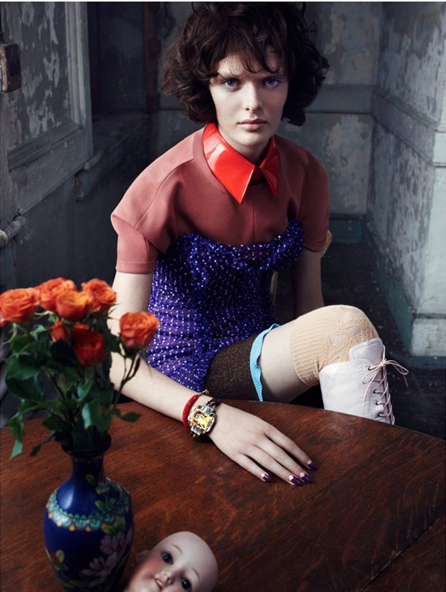 VOGUE ITALIA Sam Rollinson by Emma Summerton. Elin Svahn, January 2014, www.imageamplified.com, Image Amplified (5)