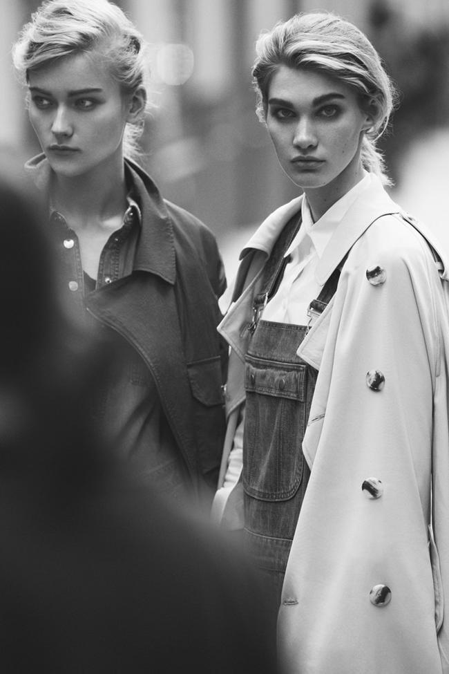 W MAGAZINE Irina Nikolaeva & Katya Riabinkina in Singluar Sensation by Ben Weller. Felicia Garcia Rivera, February 2014, www.imageamplified.com, Image Amplified (2)