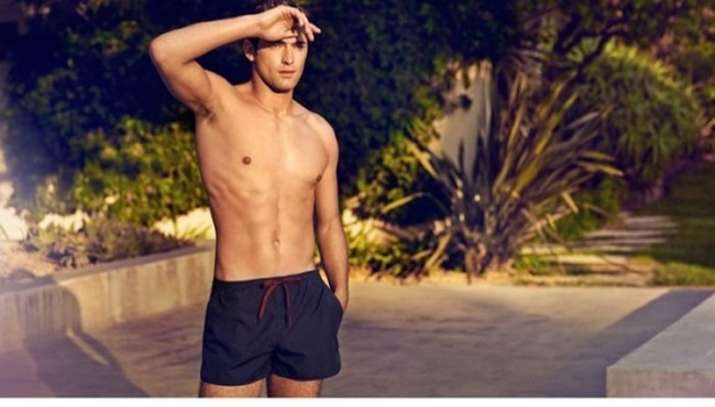 H&M MAGAZINE Sean O'Pry in Sunny Getaway for H&M Spring 2014. www.imageamplified.com, Image Amplified (7)