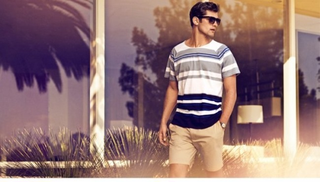 H&M MAGAZINE Sean O'Pry in Sunny Getaway for H&M Spring 2014. www.imageamplified.com, Image Amplified (4)