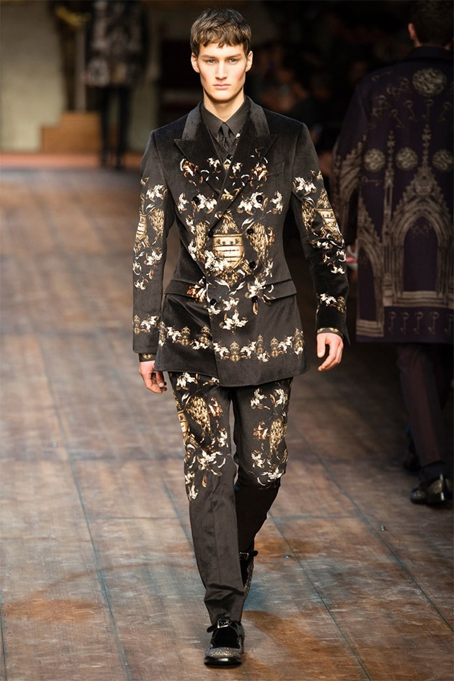 MILAN FASHION WEEK Dolce & Gabbana Fall 2014. www.imageamplified.com, Image Amplified (32)