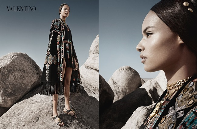 CAMPAIGN Malaika Firth, Auguste Abeliunaite, Ine Neefs, Esther Heesch & Maartje Verhoef for Valentino Spring 2014 by Craig McDean. Karl Templer, www.imageamplified.com, Image Amplified (3)