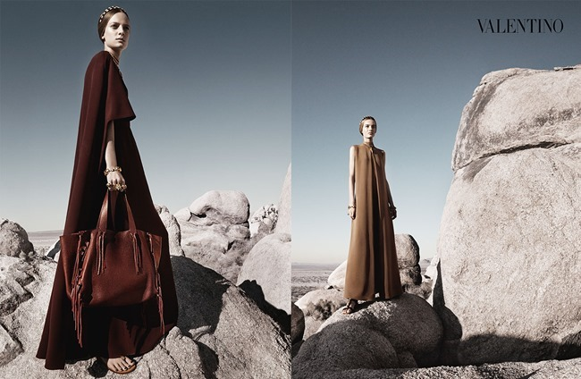 CAMPAIGN Malaika Firth, Auguste Abeliunaite, Ine Neefs, Esther Heesch & Maartje Verhoef for Valentino Spring 2014 by Craig McDean. Karl Templer, www.imageamplified.com, Image Amplified (9)