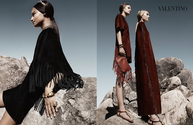 CAMPAIGN Malaika Firth, Auguste Abeliunaite, Ine Neefs, Esther Heesch & Maartje Verhoef for Valentino Spring 2014 by Craig McDean. Karl Templer, www.imageamplified.com, Image Amplified (13)