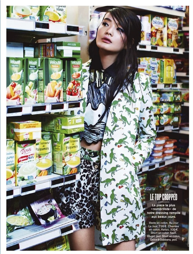 GLAMOUR FRANCE Li Wei Shan in Impressions Fortes by Naomi Yang. Donatella Musco, February 2014, www.imageamplified.com, Image Amplified (2)