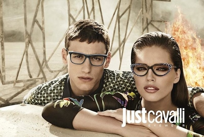 CAMPAIGN Adrian Cardoso, Mariano Ontanon, Emily DiDonato & Samantha Gradoville for Just Cavalli Spring 2014 by Giampaolo Sgura. Veronique Didry, www.imageamplified.com, Image Amplified (4)
