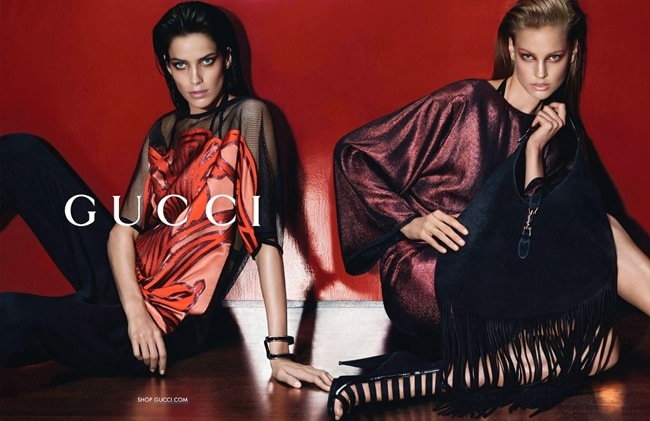 CAMPAIGN Amanda Murphy, Elizabeth Erm, Luca Stacheit & Tommaso de Benedictis for Gucci Spring 2014 by Mert & Marcus. www.imageamplified.com, Image amplified (6)