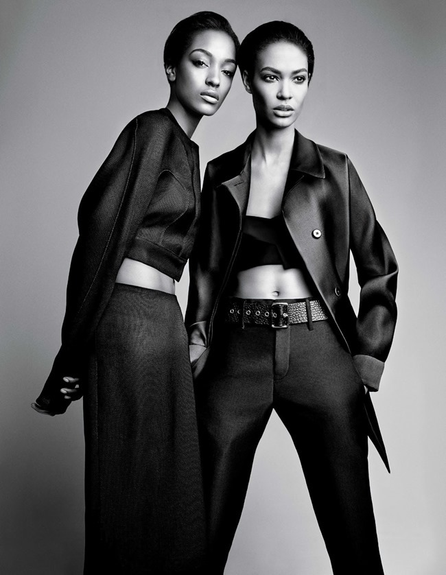 W MAGAZINE Jourdan Dunn & Joan Smalls in Spare Me by Patrick Demarchelier. Patrick Mackie, February 2014, www.imageamplified.com, Image amplified (10)
