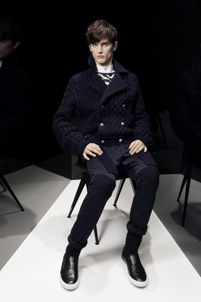 PARIS FASHION WEEK Balmain Menswear Fall 2014. www.imageamplified.com, Image Amplified (30)