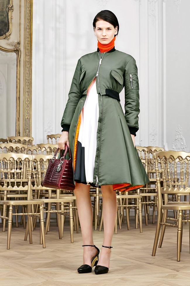 COLLECTION Sasha Luss, Larissa Hofmann, Katlin Aas & Ashleigh Good for Christian Dior Pre-Fall 2014. www.imageamplified.com, Image Amplified (6)