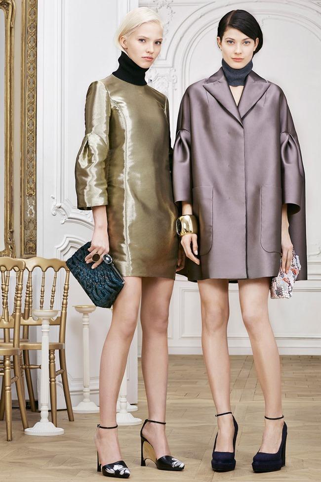 COLLECTION Sasha Luss, Larissa Hofmann, Katlin Aas & Ashleigh Good for Christian Dior Pre-Fall 2014. www.imageamplified.com, Image Amplified (10)
