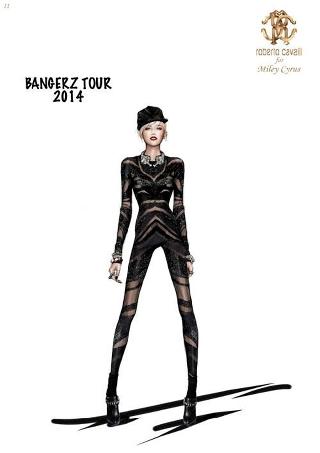 COLLECTION The Bangerz World Tour by Roberto Cavalli. www.imageamplified.com, Image Amplified (1)
