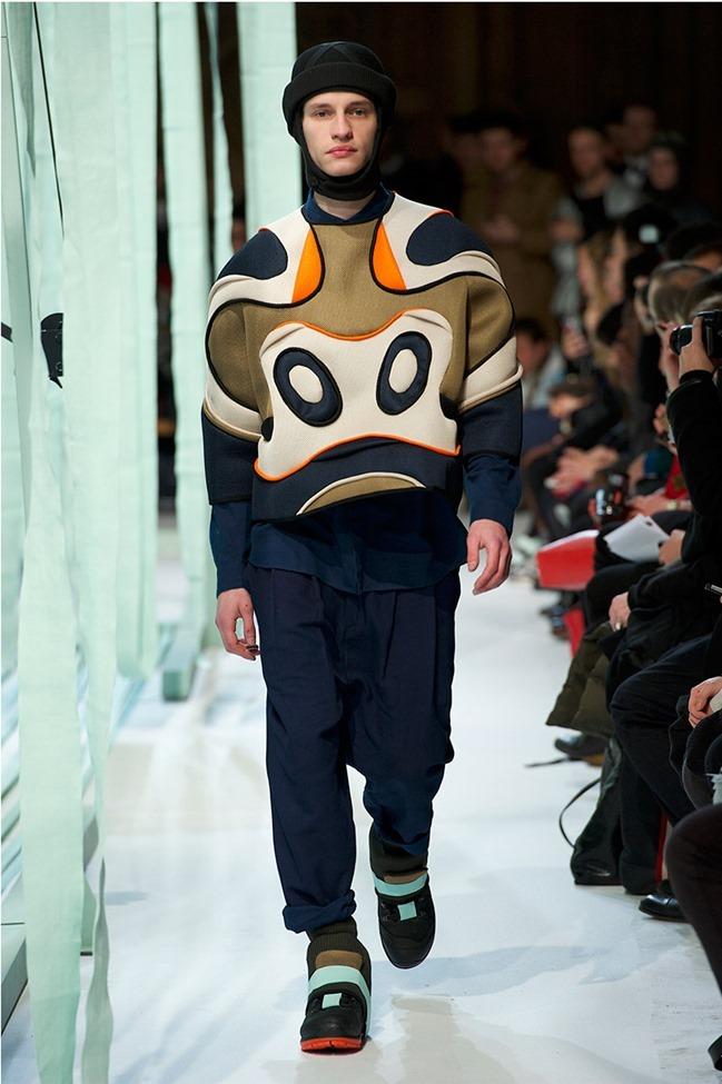 PARIS FASHION WEEK Henrik Vibskov Menswear Fall 2014. www.imageamplified.com, Image Amplified (11)