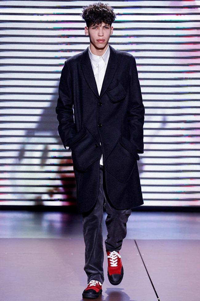 PARIS FASHION WEEK Julien David Menswear Fall 2014. www.imageamplified.com, Image Amplified (13)