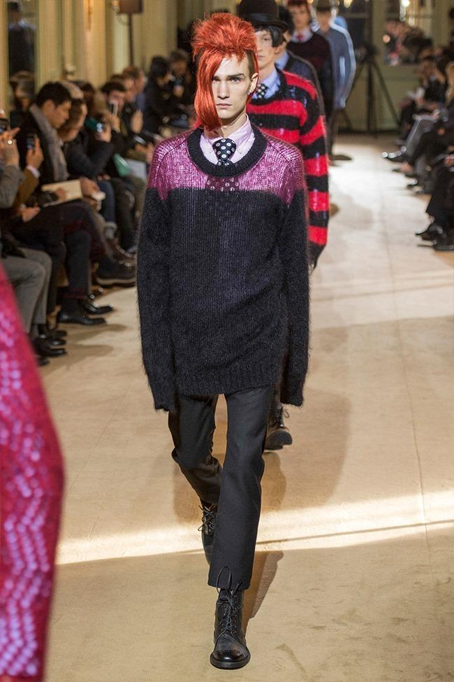 PARIS FASHION WEEK Junya Watanabe Menswear Fall 2014. www.imageamplified.com, Image Amplified (43)