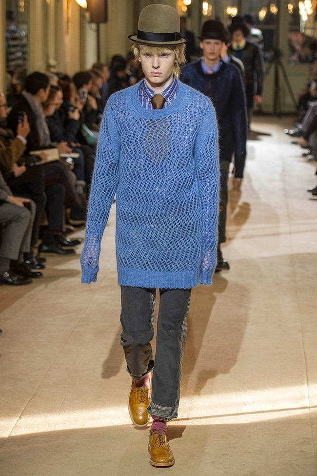 PARIS FASHION WEEK Junya Watanabe Menswear Fall 2014. www.imageamplified.com, Image Amplified (3)