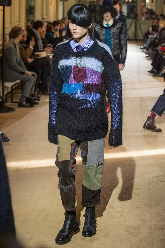 PARIS FASHION WEEK Junya Watanabe Menswear Fall 2014. www.imageamplified.com, Image Amplified (5)