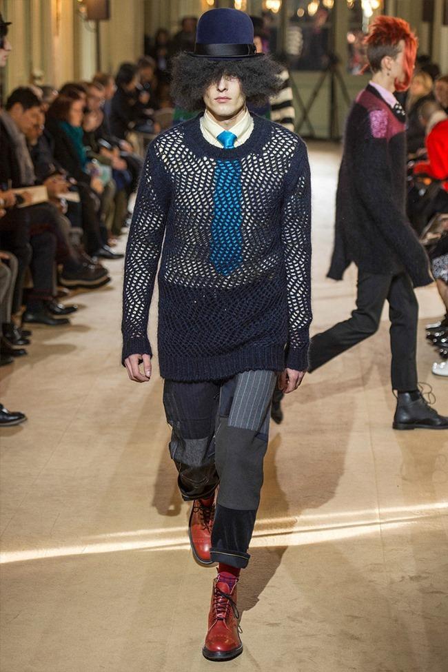 PARIS FASHION WEEK Junya Watanabe Menswear Fall 2014. www.imageamplified.com, Image Amplified (6)