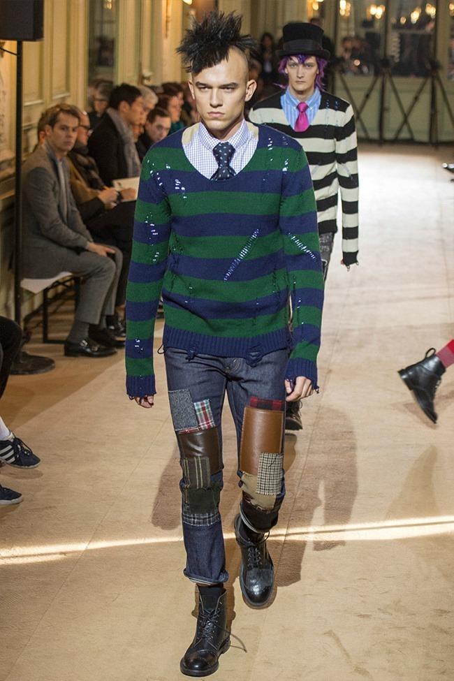 PARIS FASHION WEEK Junya Watanabe Menswear Fall 2014. www.imageamplified.com, Image Amplified (7)