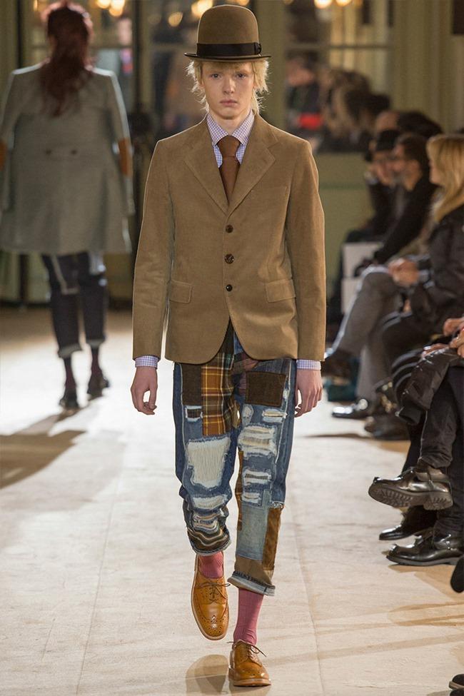 PARIS FASHION WEEK Junya Watanabe Menswear Fall 2014. www.imageamplified.com, Image Amplified (12)